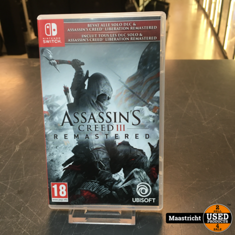 Assassin's Creed III Remastered | Switch game