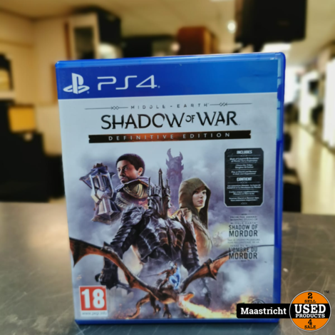 Shadow of War Definitive Edition Ps4