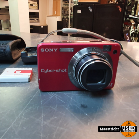 Sony cybershot DSC-W170 camera 10.1 mp