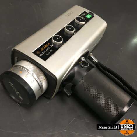 YASHICA Electro 8 LD-6  Vintage 8 mm. filmcamera