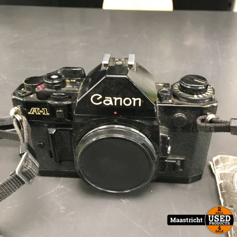 CANON A1 analoge spiegelreflexcamera (body)