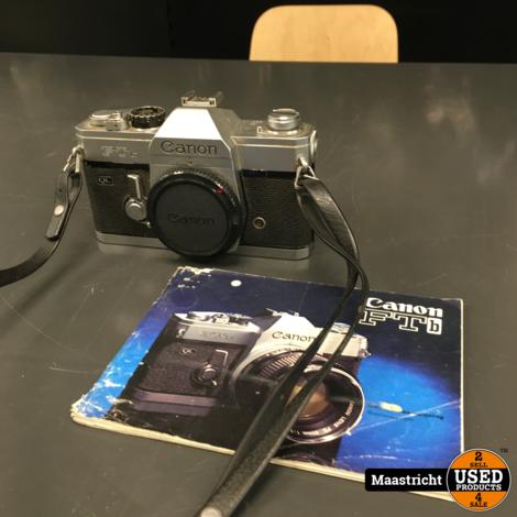 CANON FTb analoge spiegelreflexcamera (body)