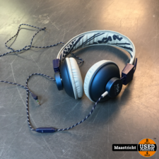 House of Marley On Ear Wired Headphones With Microphone, Denim - EM-JH011-DN | nwpr 53 euro