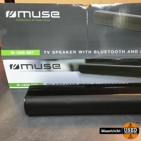 Muse M-1600 SBT soundbar |  TV Speaker Bluetooth + pll Radio