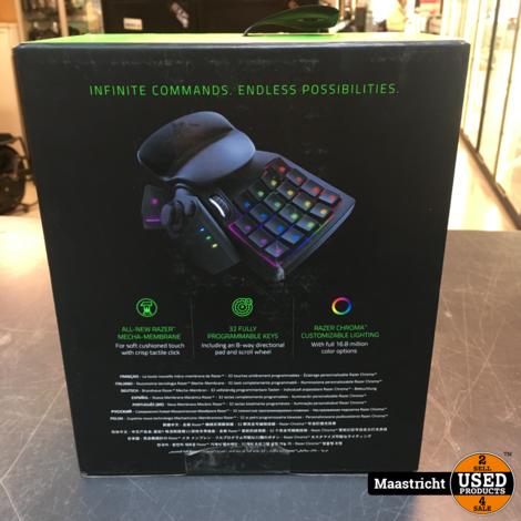 Razer Tartarus V2 - Gaming Keypad - PC | NIEUW | elders 85 euro