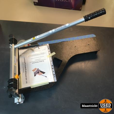 HBM 325 mm Professionele Laminaatknipper | bijna nieuw | nwpr 100 euro