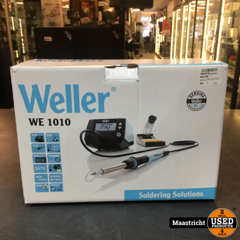 Weller WE1010 soldeerstation   elders 150 euro