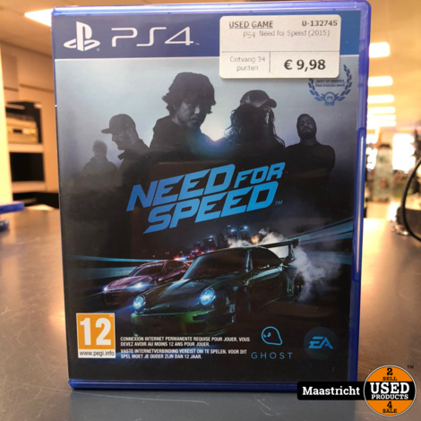 Need for Speed - PS4