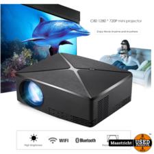 Nieuwe C80 Hd Projector 1280X720P Video Beamer Mini 3D