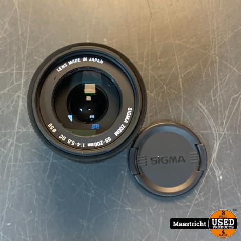 Sigma 55-200 mm f/4-5.6 DC