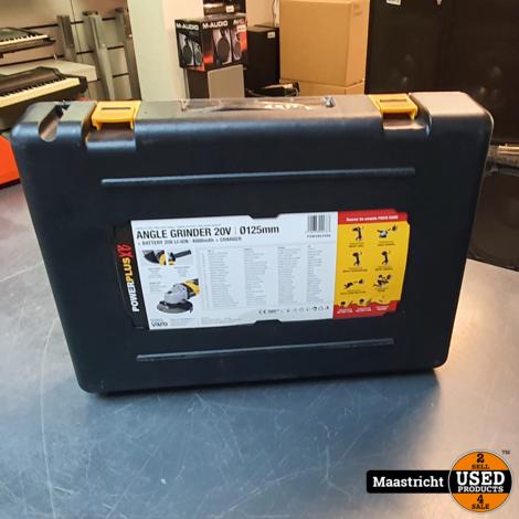 Powerplus Angle grinder 20V 4000mAh - Nieuw -