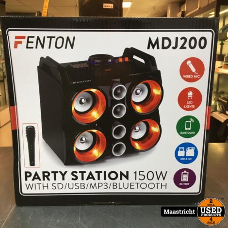 MDJ200 Party Station 150W met accu en BT