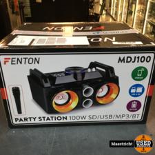 MDJ100 Party Station 100W met accu