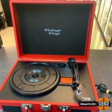 Vintage Vinyl koffergrammofoon / platenspeler