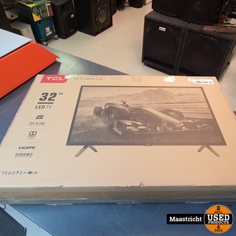 TCL 32 inch tv met AB en doos