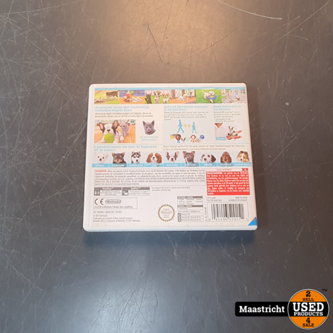 Nintendogs + Cats Bulldog (Nintendo Selects)  NL versie
