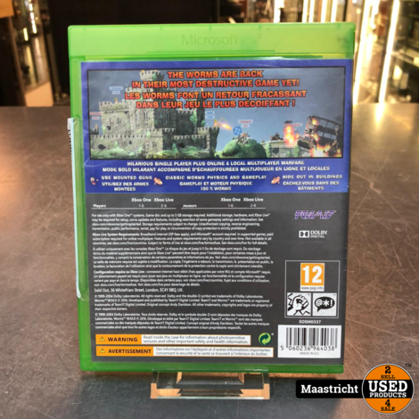 Worms - W.M.D. Xbox One