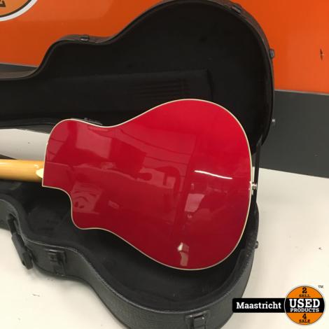 Fender Dick Dale Signature Malibu SCE Acoustic Electric Guitar met koffer