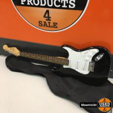 C. Giant elektrische gitaar, zwart, in nette staat