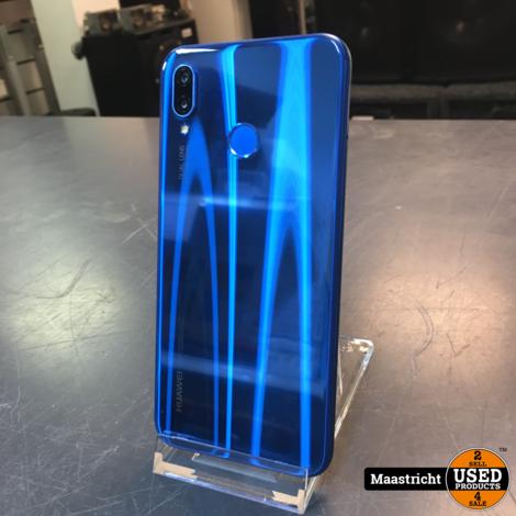 Huawei P20 lite 64 GB, blue   zeer goede staat