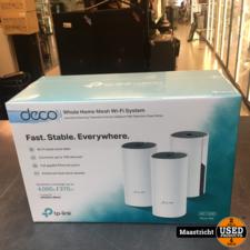 TP-Link Deco M4 - Multiroom Wifi Systeem /Mesh Wifi - Triple Pack / Wit