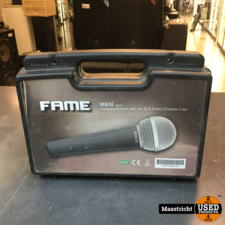 Fame MS58 dynamische zangmicrofoon in koffer, incl. kabel