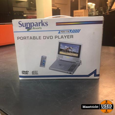 Sunparks protable dvd player (Nieuw ongebruikt)