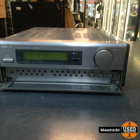 DENON UDRA-70 stereo receiver 2x 30 Watt, met Phono ingang