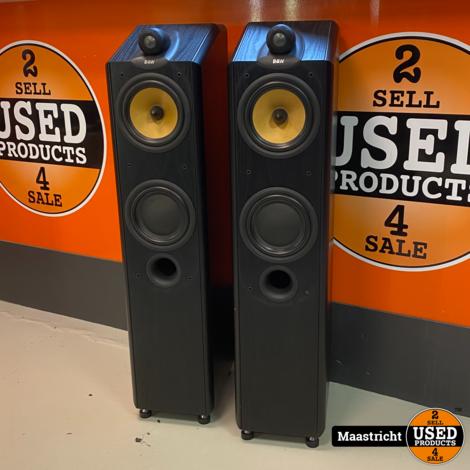 B&W CDM7NT, zwart, High-End staande luidsprekers in nieuwstaat