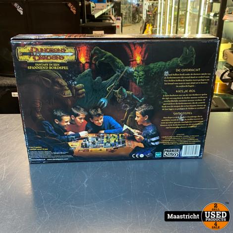 dungeons & dragons bordspel