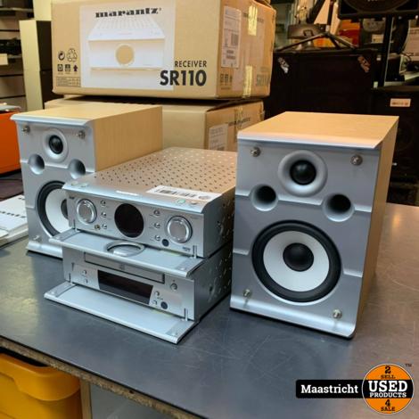 Marantz SR110 / CD110 / LS110 stereo set + remote in zeer goede staat