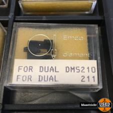 DUAL  DMS210  /  DMS211  pickup naald NIEUW