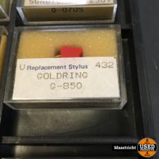GOLDRING G850  pickup naald NIEUW