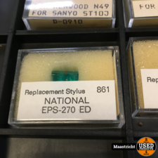 NATIONAL  EPS-270ED  pickup naald NIEUW
