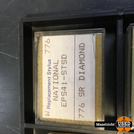 NATIONAL  EPS41  pickup naald NIEUW