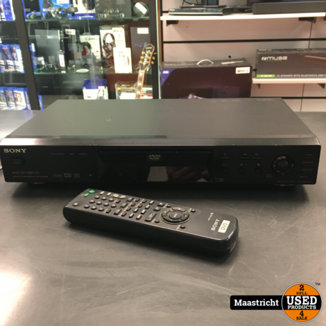 SONY DVD-NS400D  dvd-speler met remote