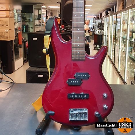 Ibanez GSR200 Gio SR Transparant Red elektrische basgitaar
