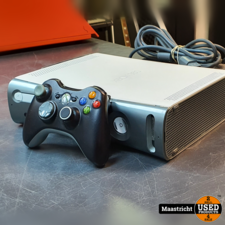 Microsoft XBOX 360 WIT INCL CONTROLLER en GARANTIE