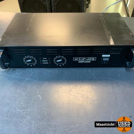 PA-AMP2400-KN - PA Amplifier 240W 230V, KÖNIG