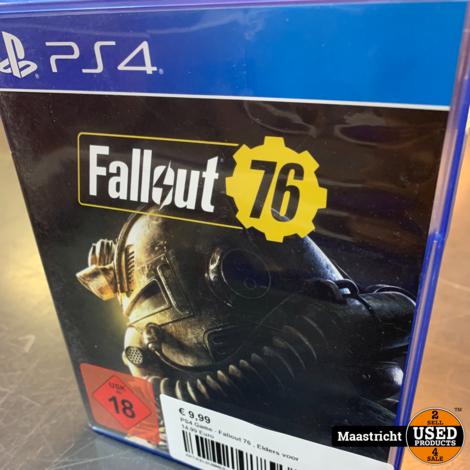 PS4 Game - Fallout 76 , Elders voor 14.99 Euro