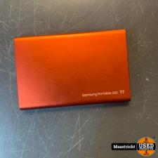 SAMSUNG Portable SSD T7 - 500GB - Rood , nwpr. 74.99 Euro