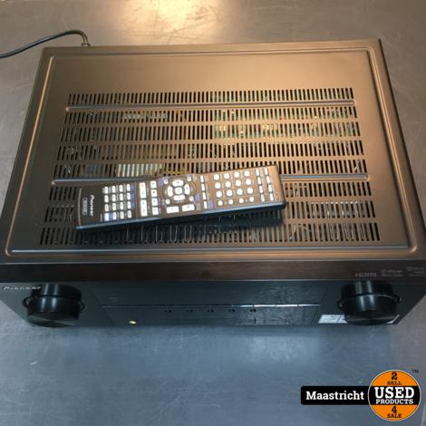 Pioneer VSX-826-K  7.1 receiver met HDMi en originele remote