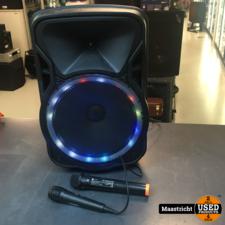 N-Gear The Flash 1205 karaoke party speaker met 2 microfoons | nwpr 85 euro