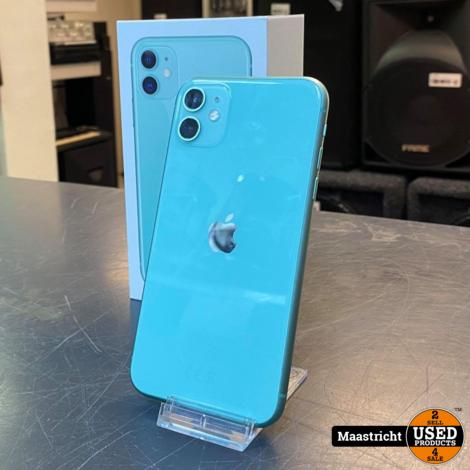 iPhone 11 green 64gb batterij 88%