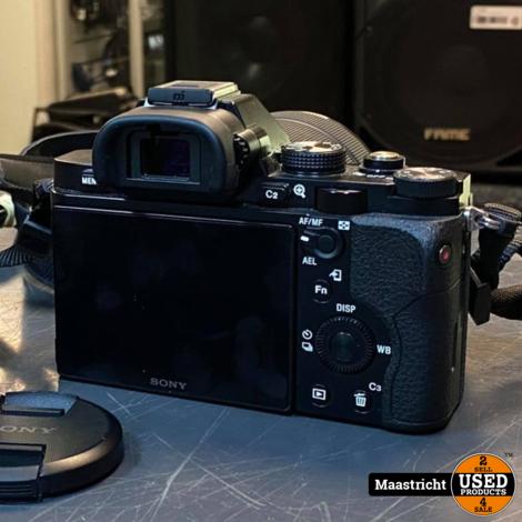 Sony A7 / Alpha 7, compleet met lens 28-70 mm. en lader