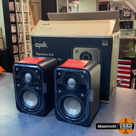 Polk Audio Signature S10 2-weg luidspreker, set, nieuw in de doos | nwpr 150 euro
