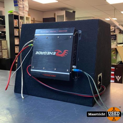Excalibur Boombox, 12 inch. 1.000 Watt +  REN 550s MK3 versterker