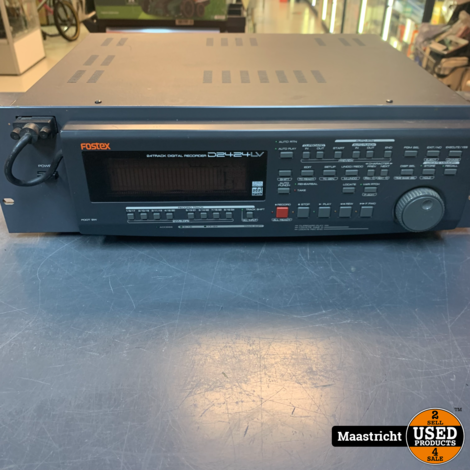 Fostex D2424LV Digital Multitrack Hard Disk Recorder, in goede conditie