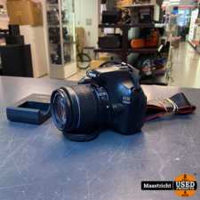 Canon EOS 1100D with EFS 18-55 lens
