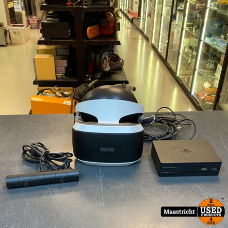 Playstation 4 VR Bril + Camera, geheel compleet in prima staat, nwpr. 328 Euro